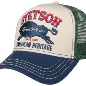 Casquette Trucker Cap Great Plains Stetson bleu
