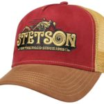 Casquette Trucker Cap On The Road Stetson marron